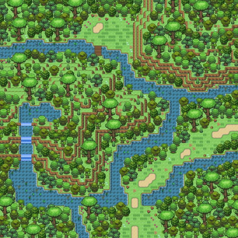 Pokémon-Map: Dschungel ;>