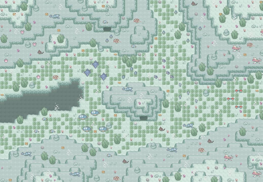 Pokémon-Map: Verschollenes Werk aus Mapping WB #21 - KAT 2 - BIOTOP
