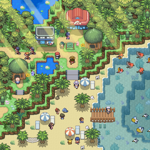 Pokémon-Map: Top1