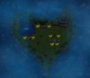 Versunkene Herzmap