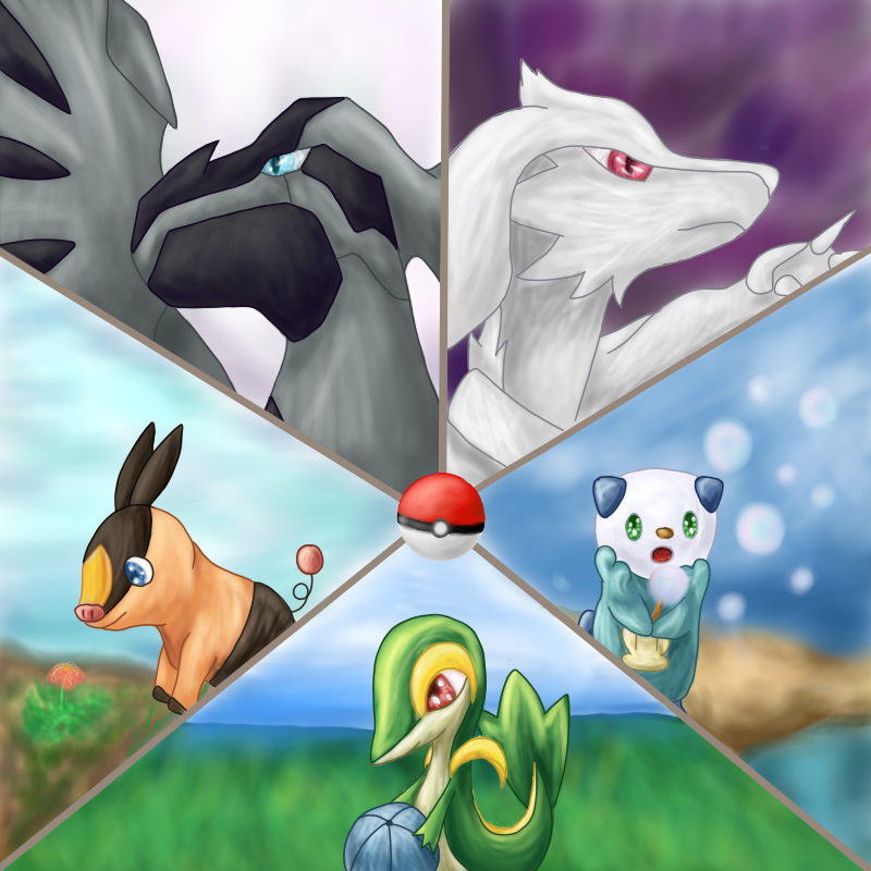 Pokémon-Zeichnung: Stop Playing the adventure begins
