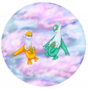 Shiny Latias und Shiny Latios