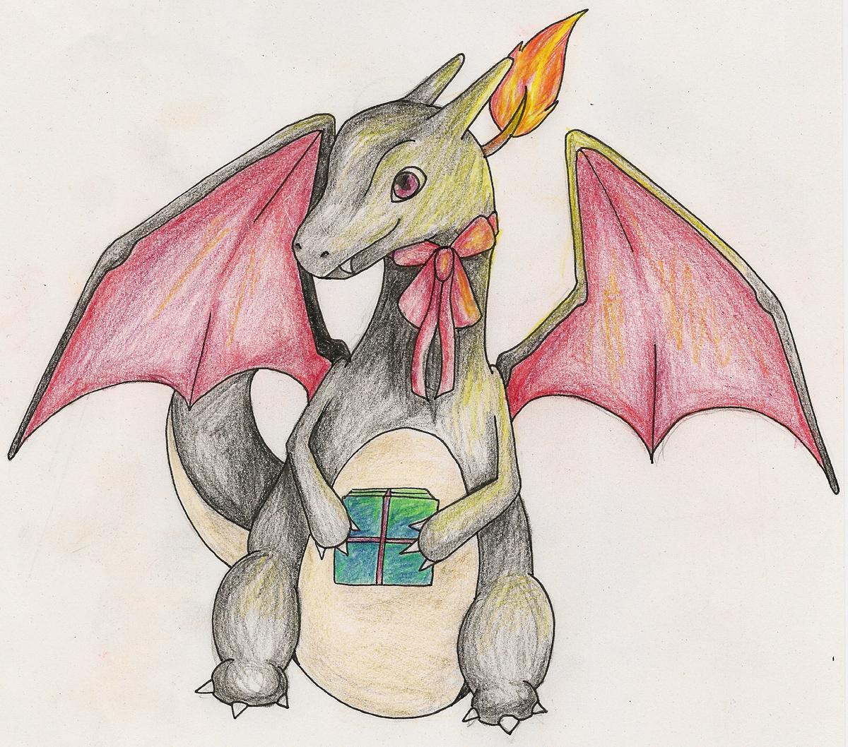 Pokémon-Zeichnung: Happy Birthday