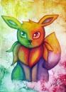 Farbenfrohes Evoli :D