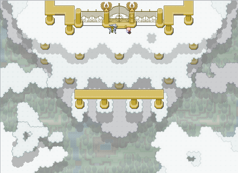 Pokémon-Map: Knockin' on Heavens Door X3