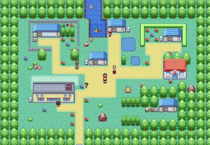 Pokémon-Map: Idyllisches Heim