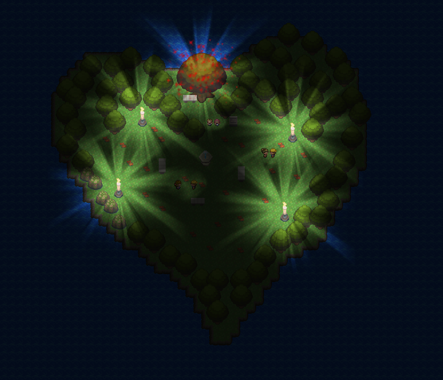 Pokémon-Map: Luv Island