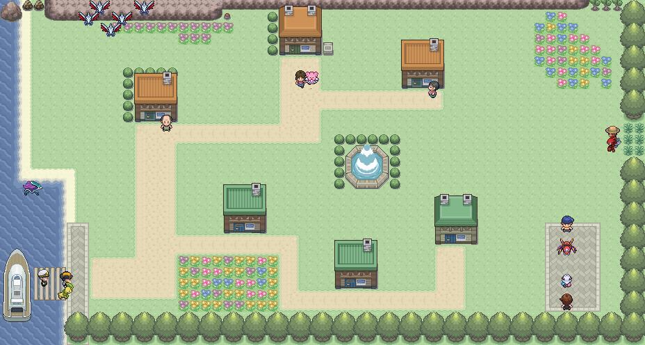 Pokémon-Map: Ferasi
