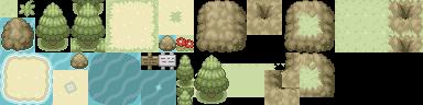 Pokémon-Tileset: Tileset 2. Version