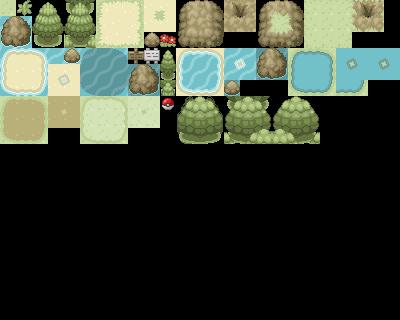 Pokémon-Tileset: Eigenes Tileset 3. Version