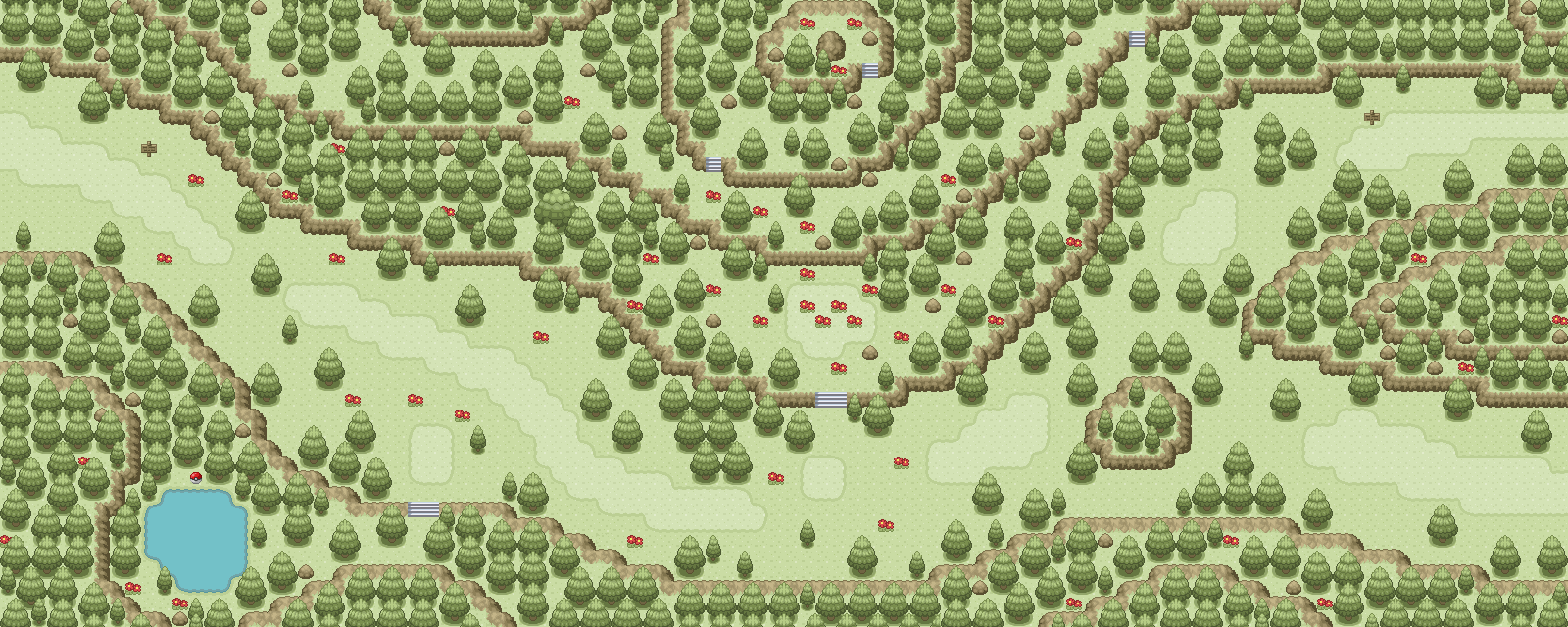Pokémon-Map: Route 231
