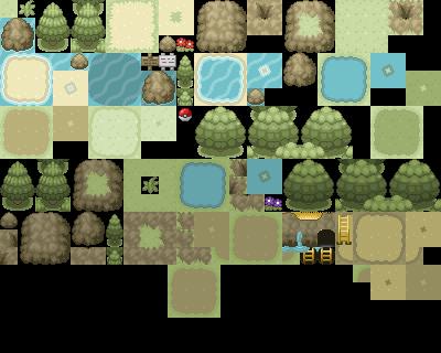 Pokémon-Tileset: Eigenes Tileset 4. Version