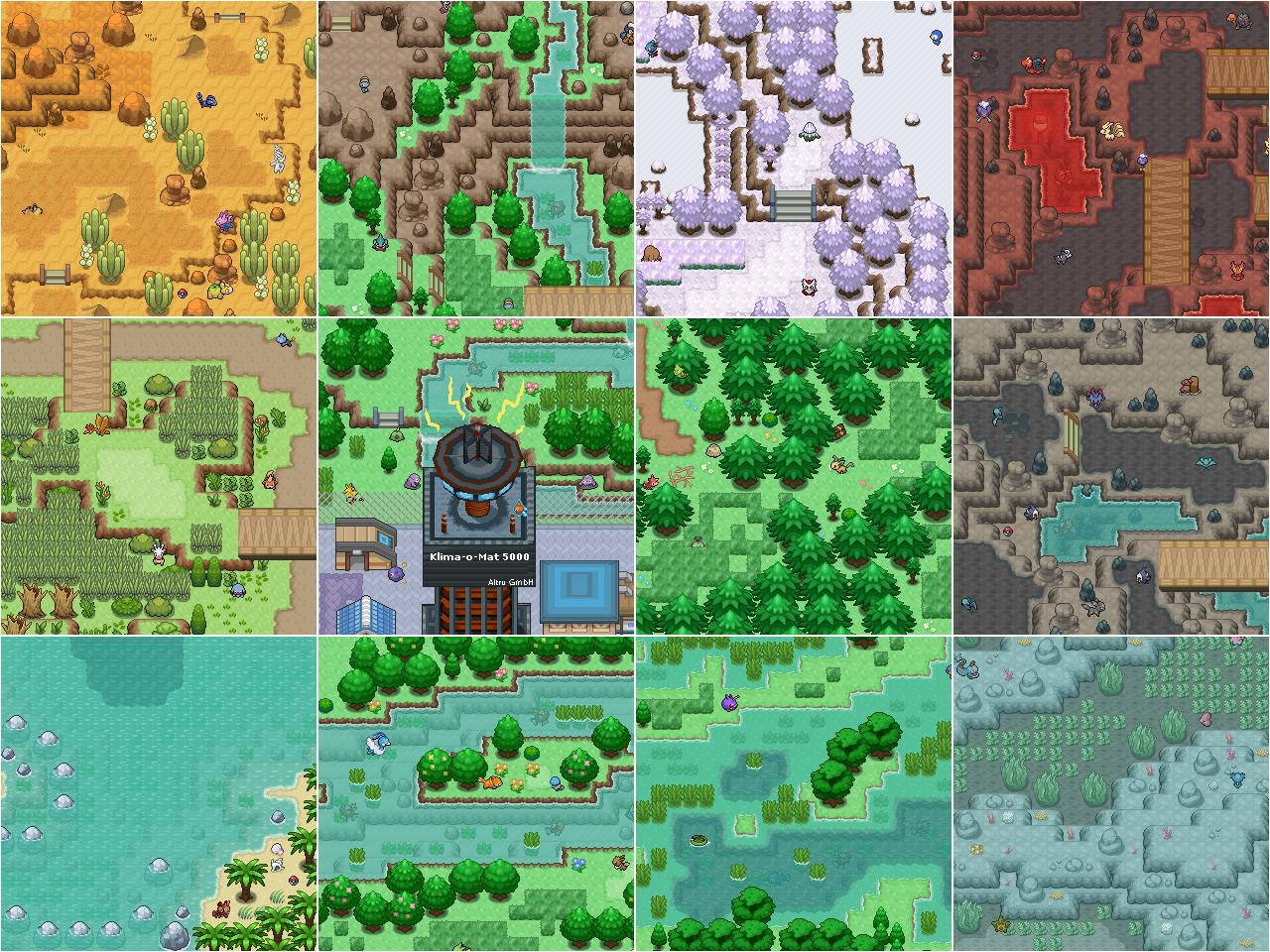 Pokémon-Map: Winzige Minimap