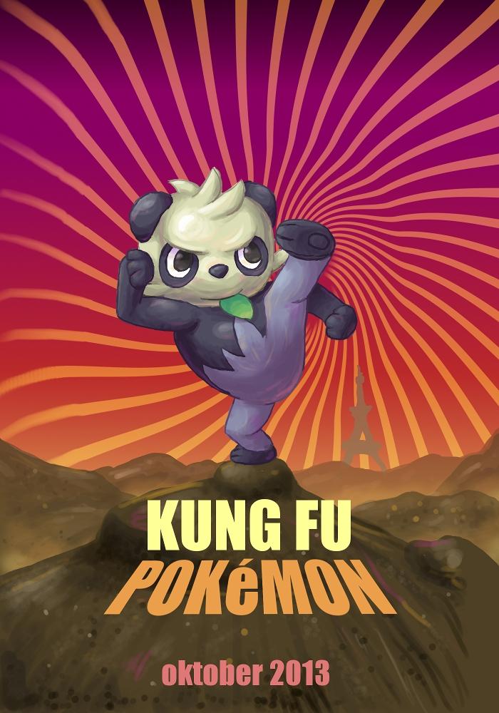Pokémon-Zeichnung: Kung Fu Pokémon