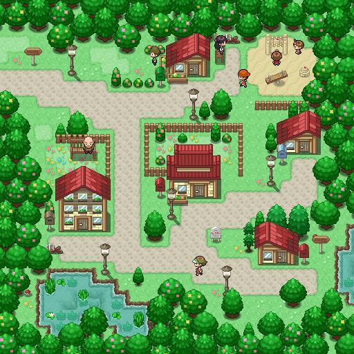 Pokémon-Map: Quelldorf Remake