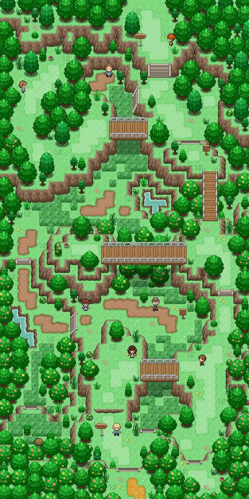 Pokémon-Map: Route 302