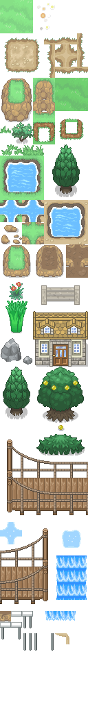 Pokémon-Tileset: XY-Tiles (+ Hoenn) - Version 1