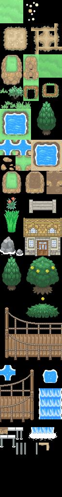 Pokémon-Tileset: XY-Tiles (+ Hoenn) - Version 1