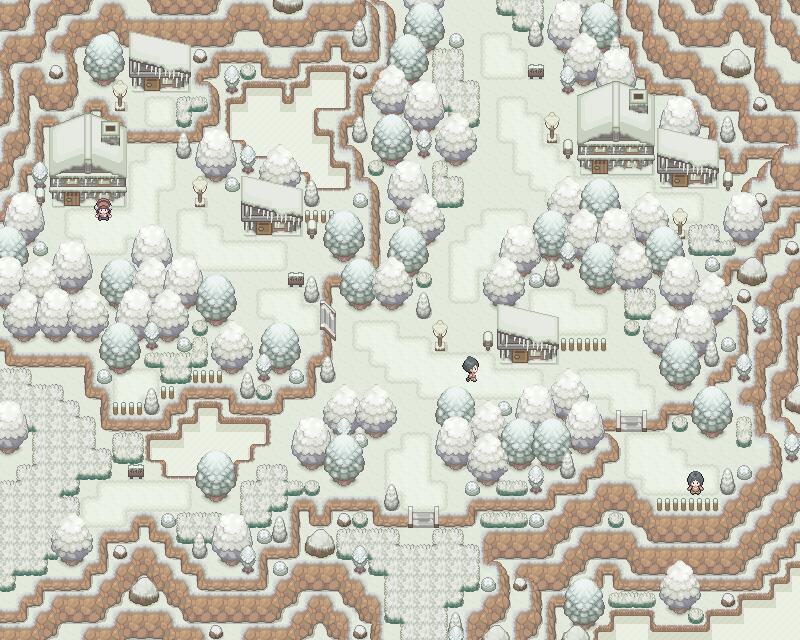 Pokémon-Map: Winterdorf