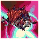 Pokémon-Pixelart: Mega-Zoroark