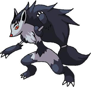 Pokémon-Zeichnung: Pokémon 5. Generation Pokémon - Magnayen Evo