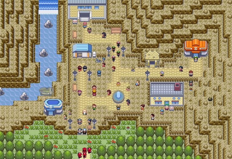 Pokémon-Map: Mapping Wettbewerb #10 Kategorie 1 - Nintendostyle Village