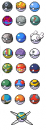Pokemon Ball Sprites