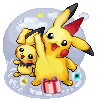 Winter Landschaft Pikachu für X-Mas WB