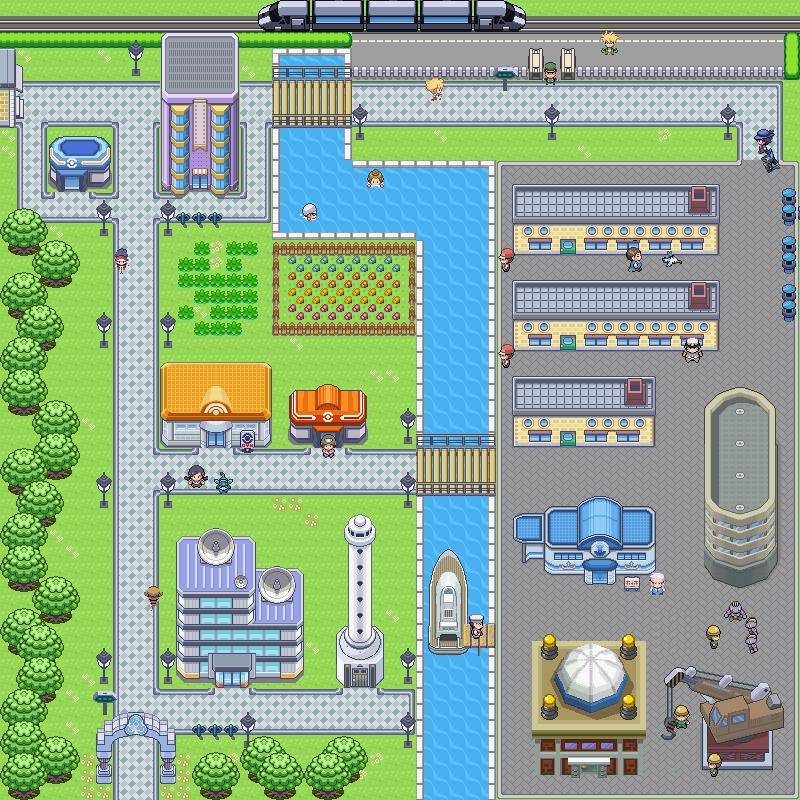 Pokémon-Map: WB7 Remake
