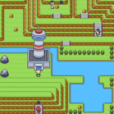 Pokémon-Map: Ausstrahlungsturm