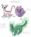 Geister-Katzen