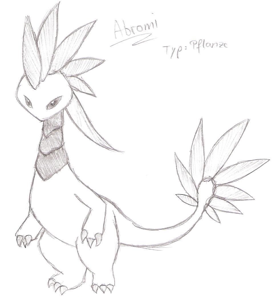 Pokémon-Zeichnung: Abromi
