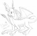 Dragonir-Entwicklung - weiblich
