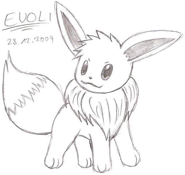 eeveelution coloring pages - photo #34