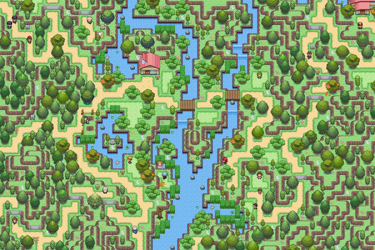 Pokémon-Map: Ein Idyll