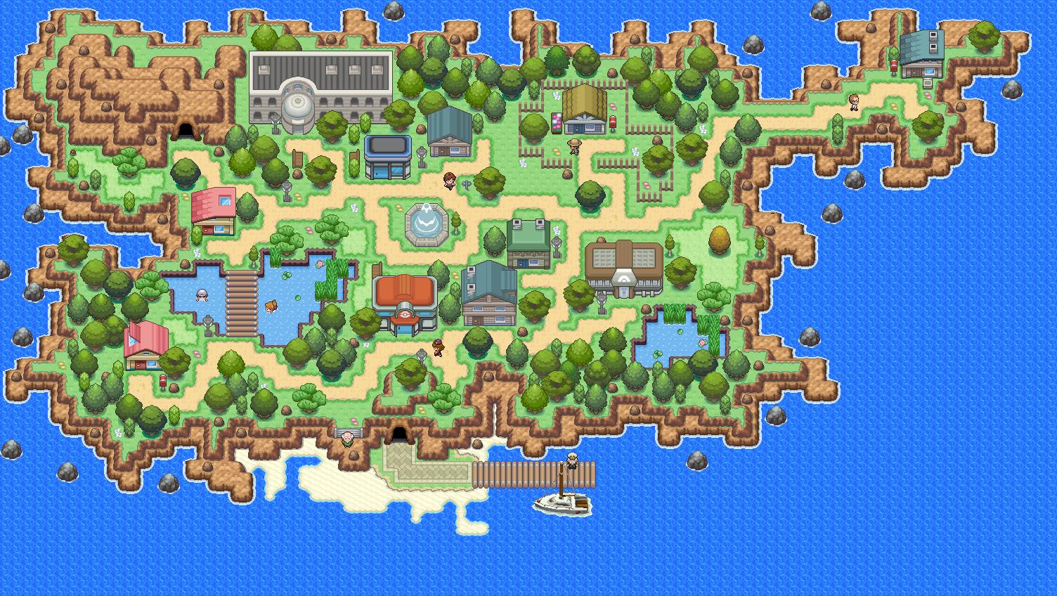 Pokémon-Map: MWB16 Kat.4 InselRemake