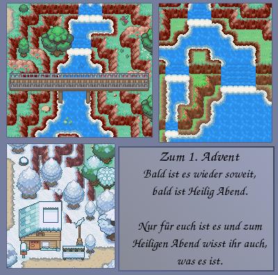 Pokémon-Map: Der 1. Advent