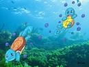 Schiggy schwimmen im Wasser