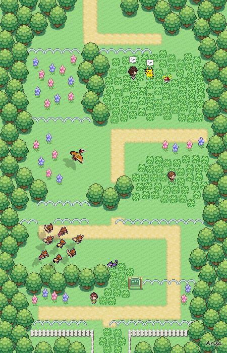 Pokémon-Map: Route1