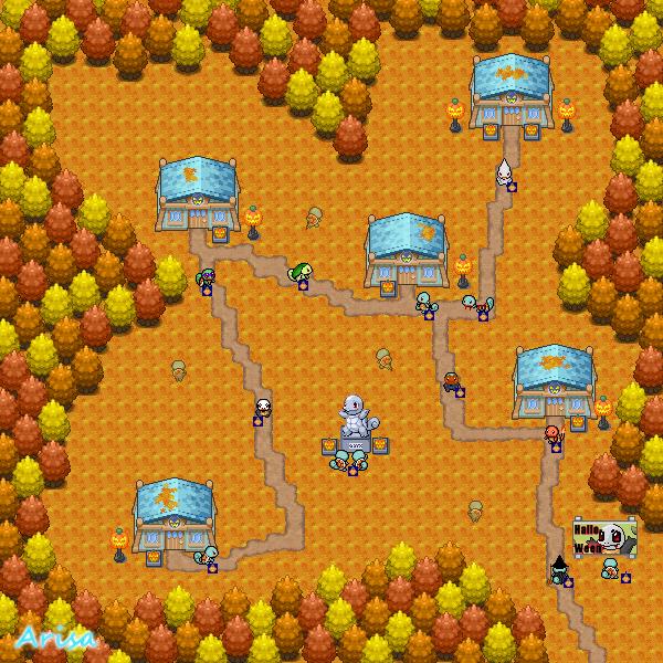 Pokémon-Map: Halloween-Map