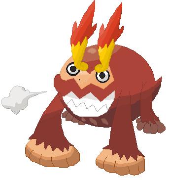 Pokémon-Zeichnung: Hihidaruma