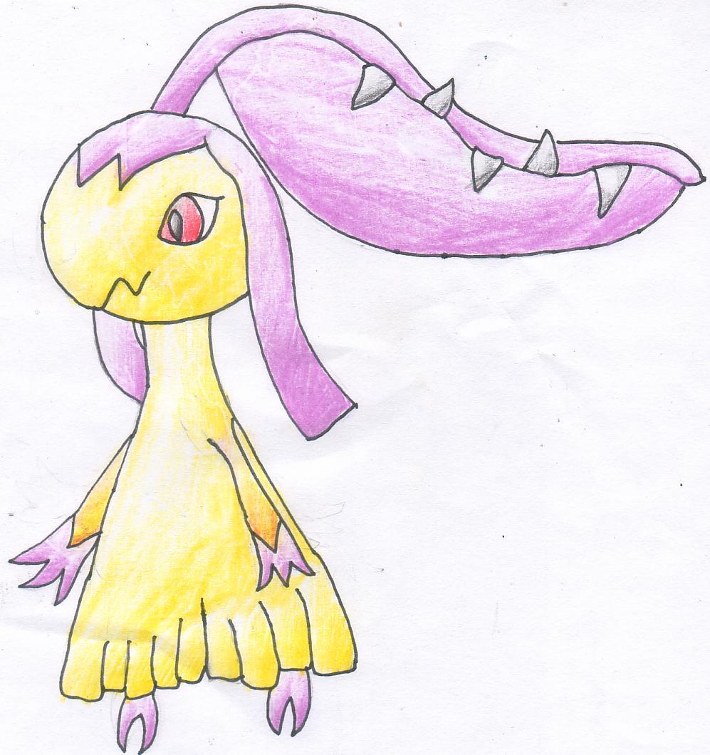 Pokémon-Zeichnung: Shiny Flunkifer