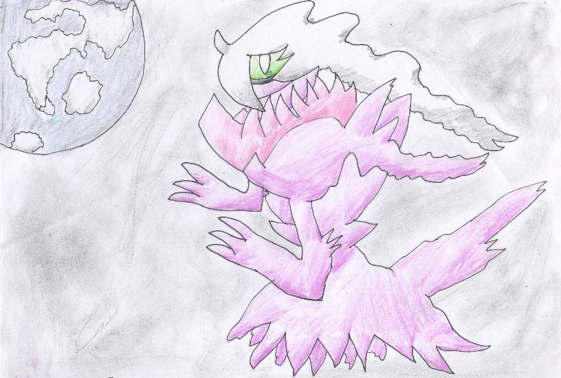 Pokémon-Zeichnung: Shiny Darkrai