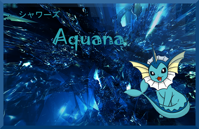 Pokémon-Fanart: Aquana banner