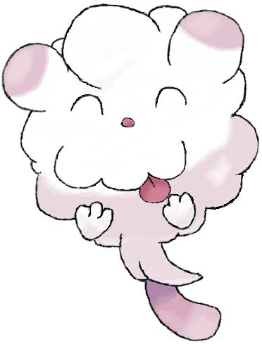 Pokémon-Zeichnung: Flauschling