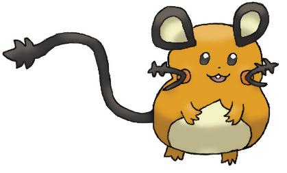Pokémon-Zeichnung: Dedenne