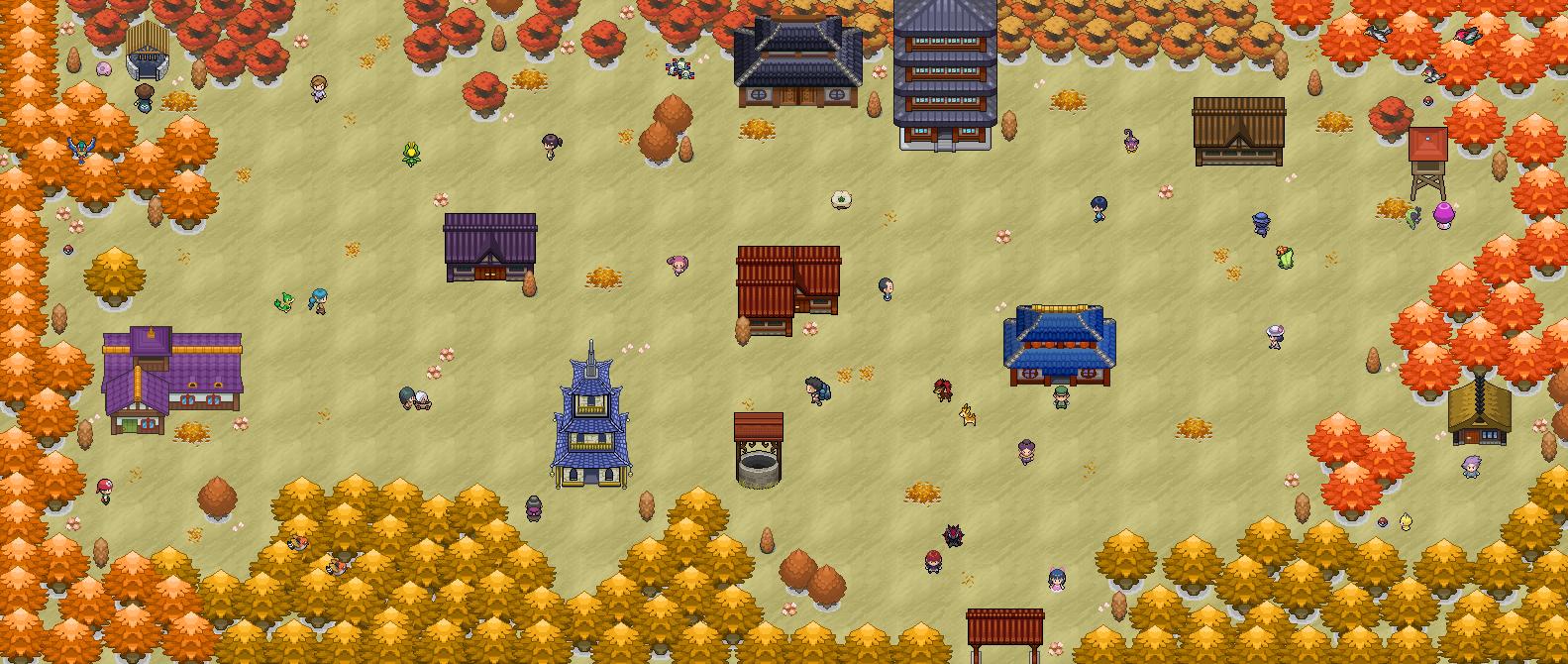 Pokémon-Map: Herbst
