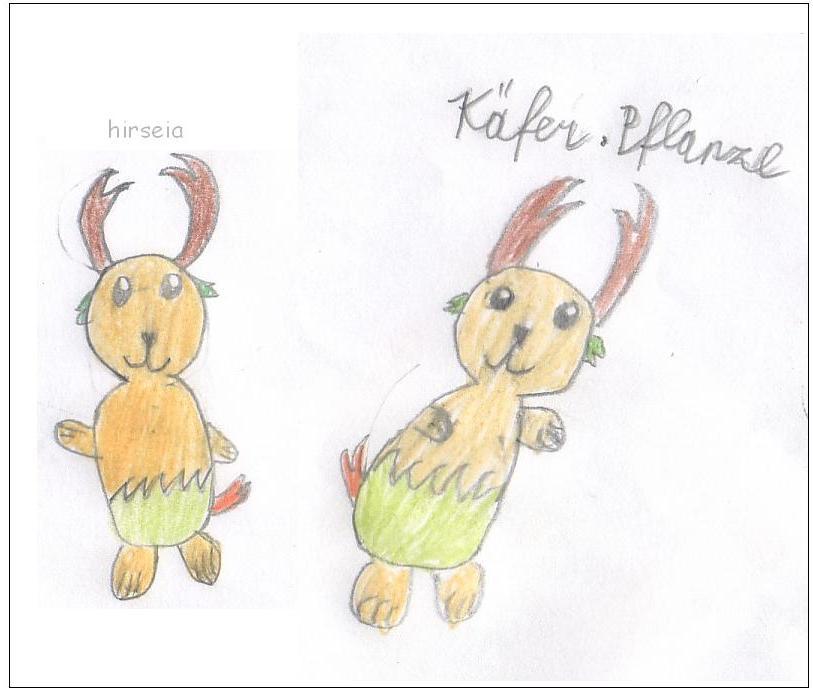 Pokémon-Zeichnung: hirseia