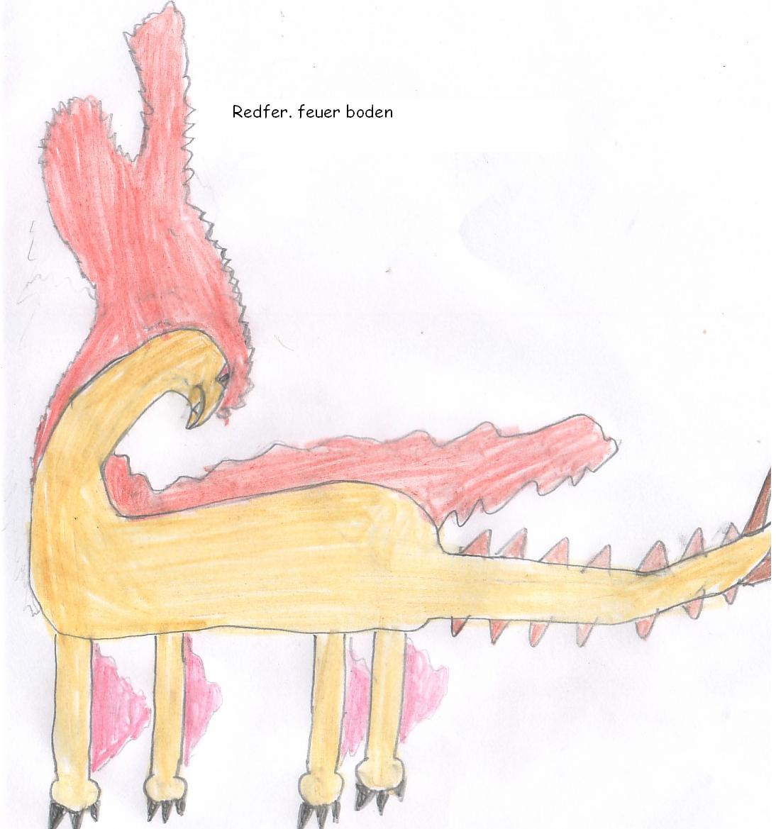 Pokémon-Zeichnung: redfer