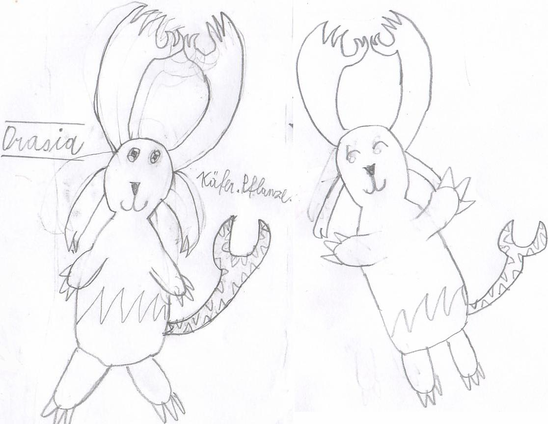 Pokémon-Zeichnung: Orasia